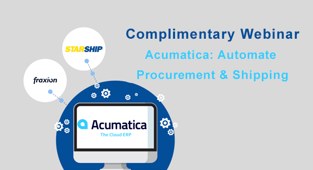 Acumatica Automate Procurement and Shipping