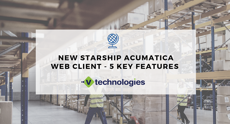 Acumatica Shipping App StarShip