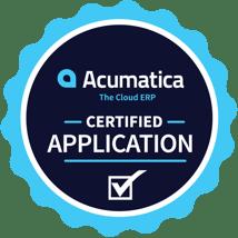 Acumatica shipping Certified Badge