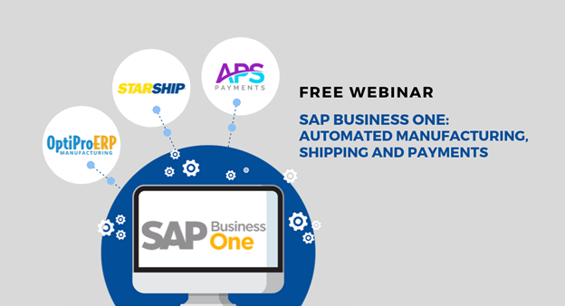 SAP Business One OptiProERP StarShip and APS Payments