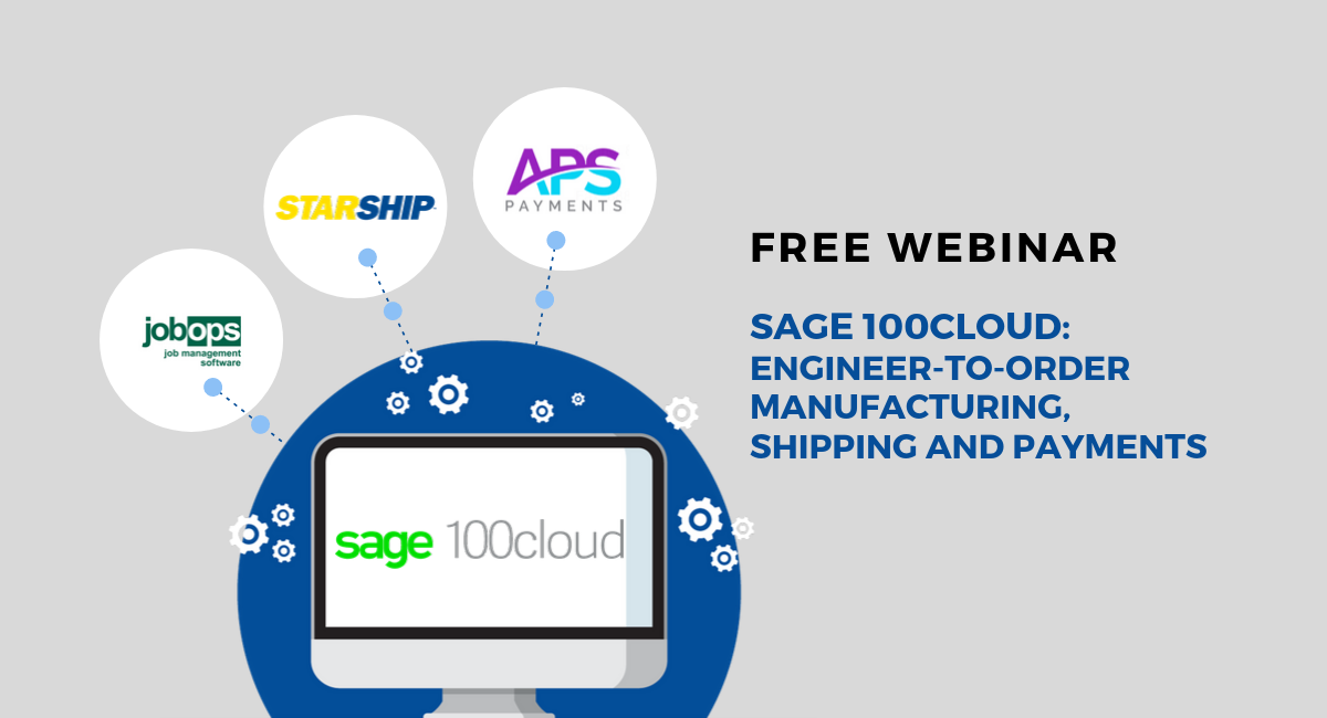 Sage 100 shipping solution mfg and payments 10.2.19